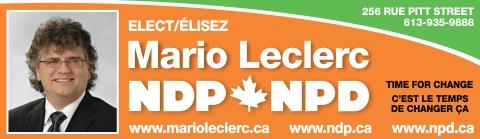 Mario Leclerc NDP